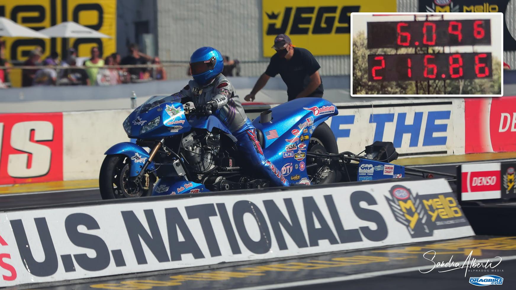 Top Fuel Harley - Bob Malloy