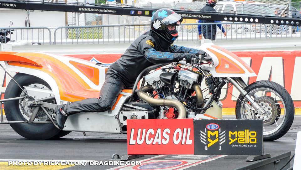 NHRA Top Fuel Harley - Chris Smith
