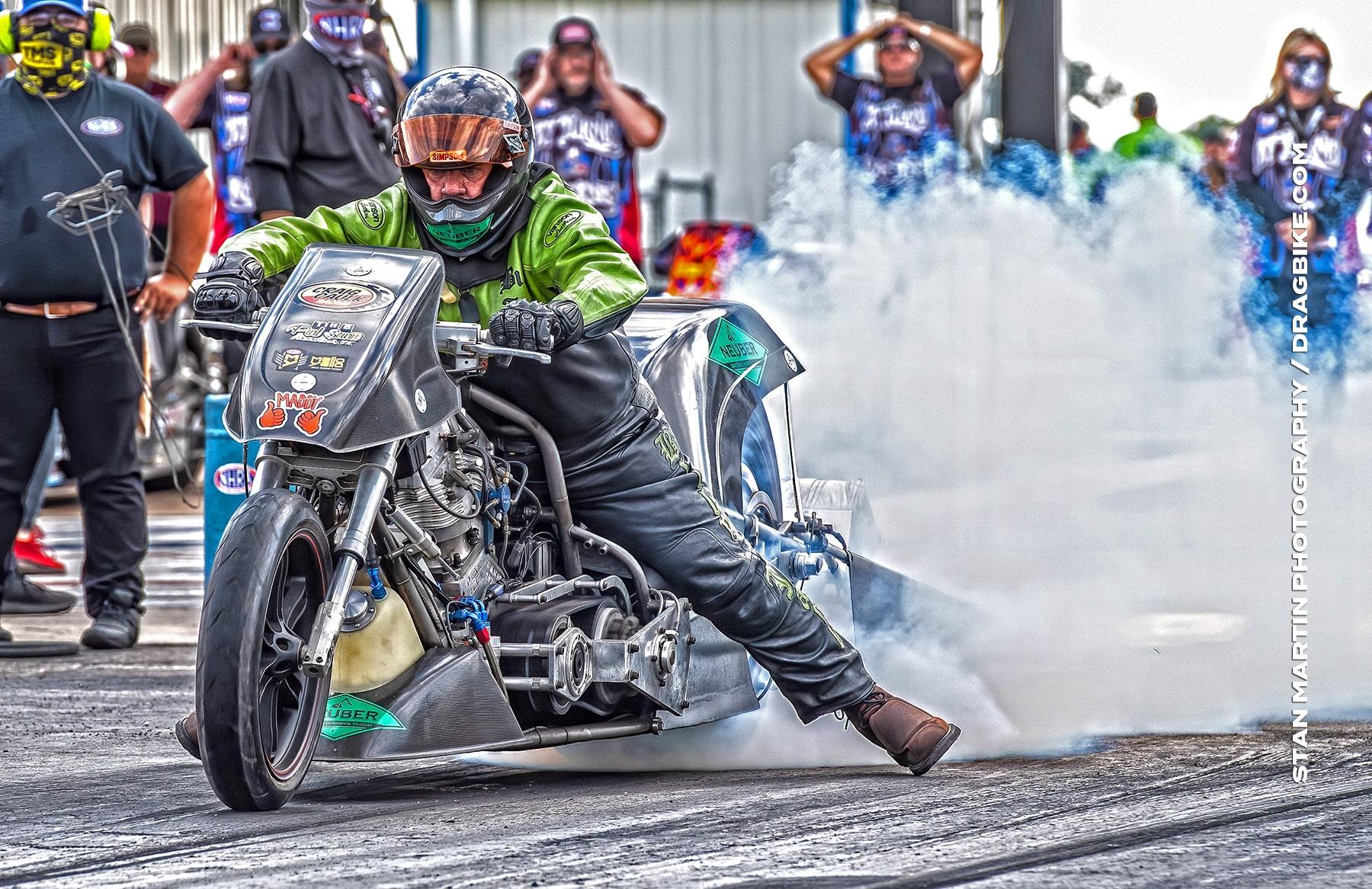 Billy Jackson - NHRA Top Fuel Harley