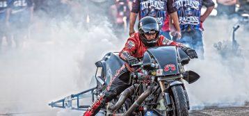 NHRA: AAA Fall Nationals – Top Fuel Harley