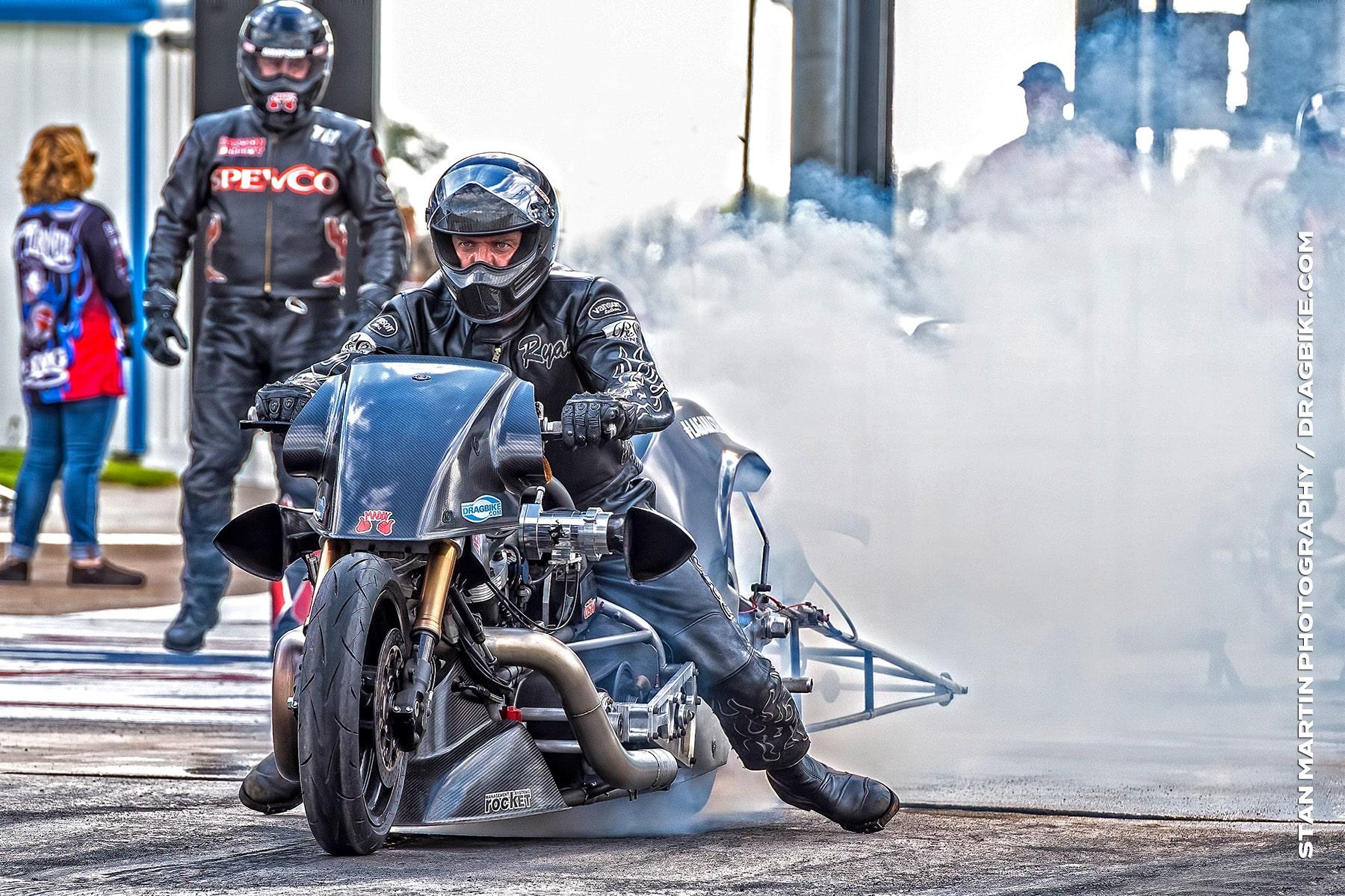 Ryan Peery - NHRA Top Fuel Harley