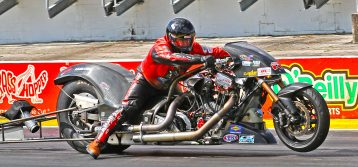 NHRA: Gatornationals – Top Fuel Harley