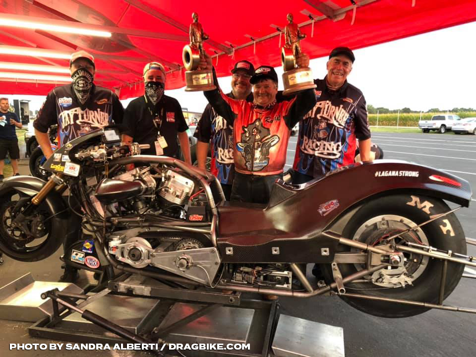 NHRA Top Fuel Harley - Randall Andras