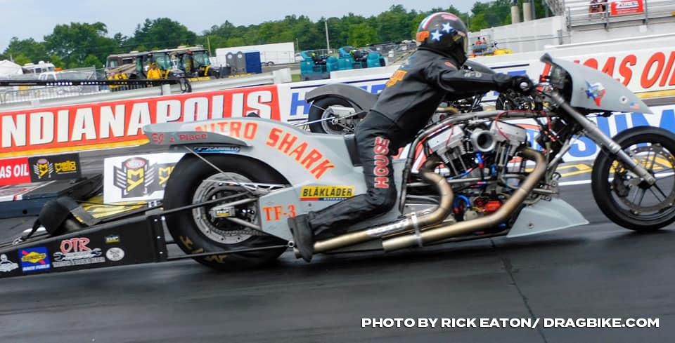 NHRA Top Fuel Harley - Rickey House