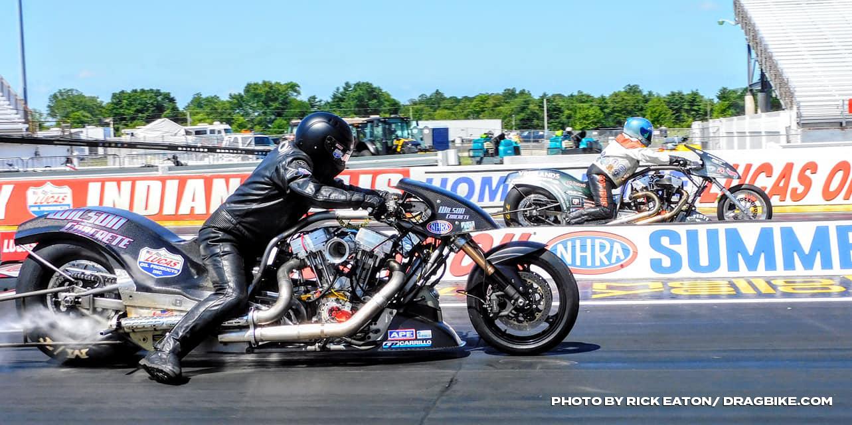 NHRA Top Fuel Harley - Tyler Wilson Rich Vreeland