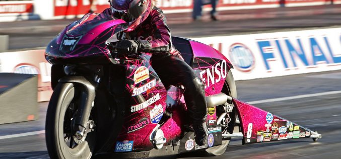 NHRA: Pro Stock Motorcycle from Las Vegas