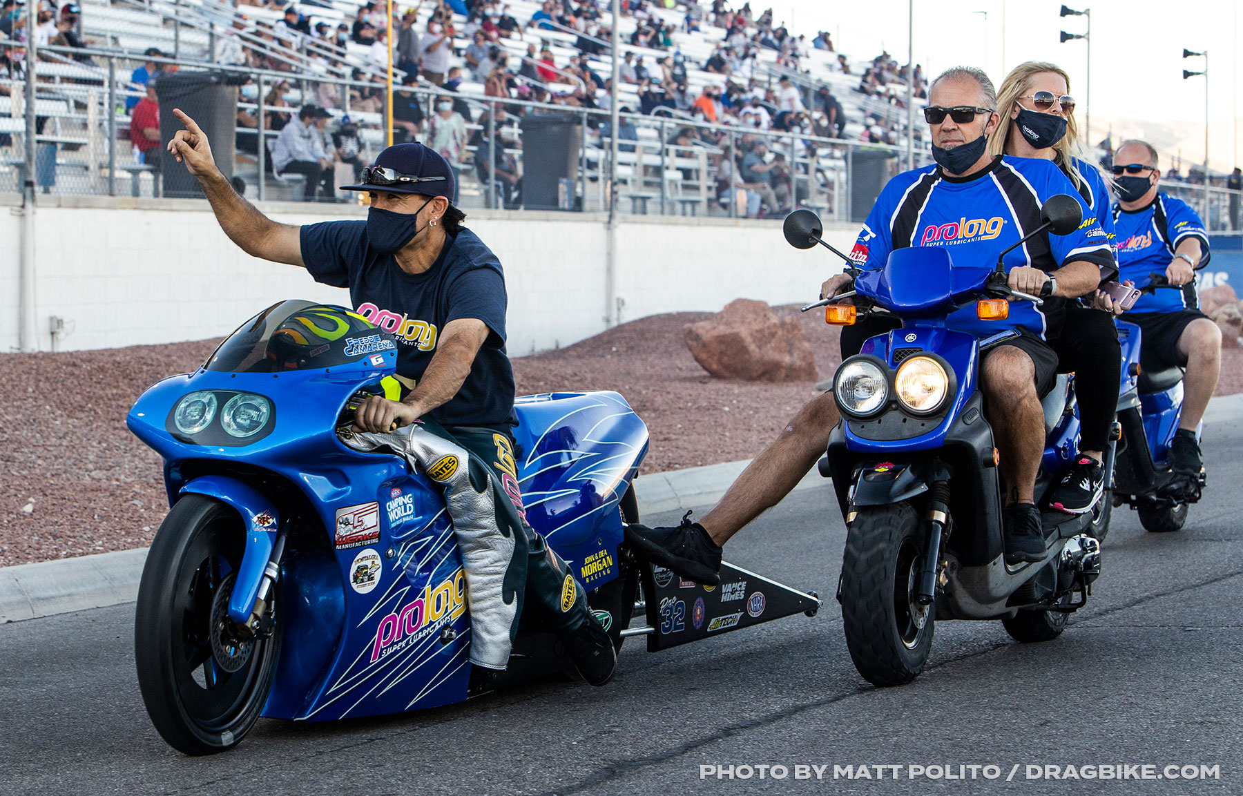 Fred Camarena - NHRA Pro Stock Motorcycle