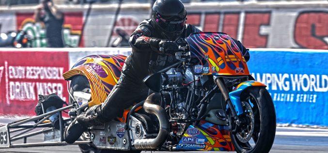 NHRA: Top Fuel Harley from Las Vegas