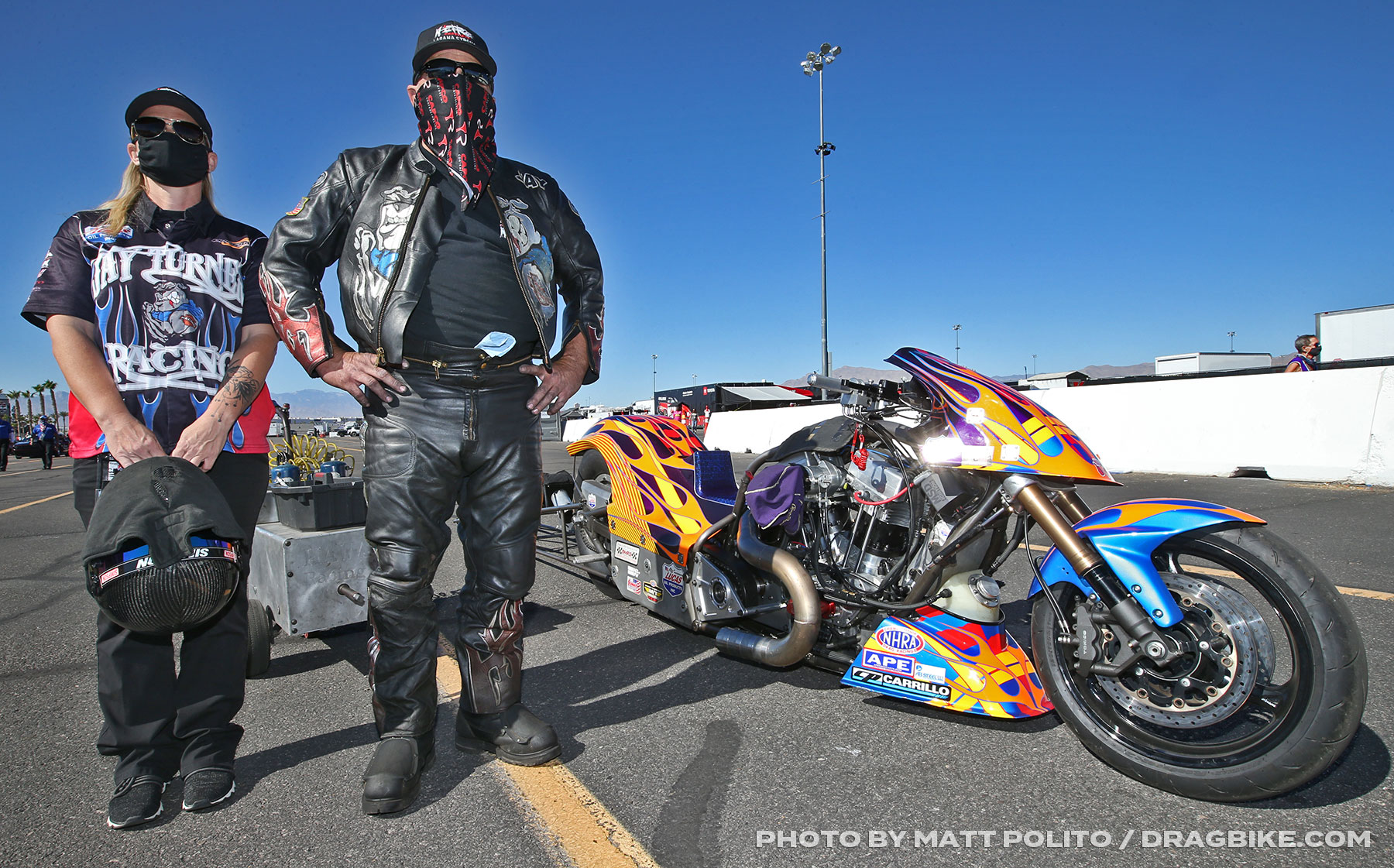 Jay Turner - NHRA Top Fuel Harley