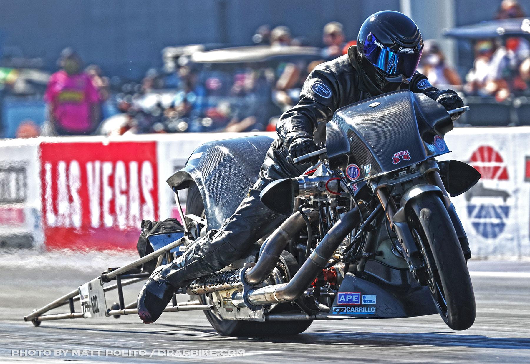 Mike Scott - NHRA Top Fuel Harley