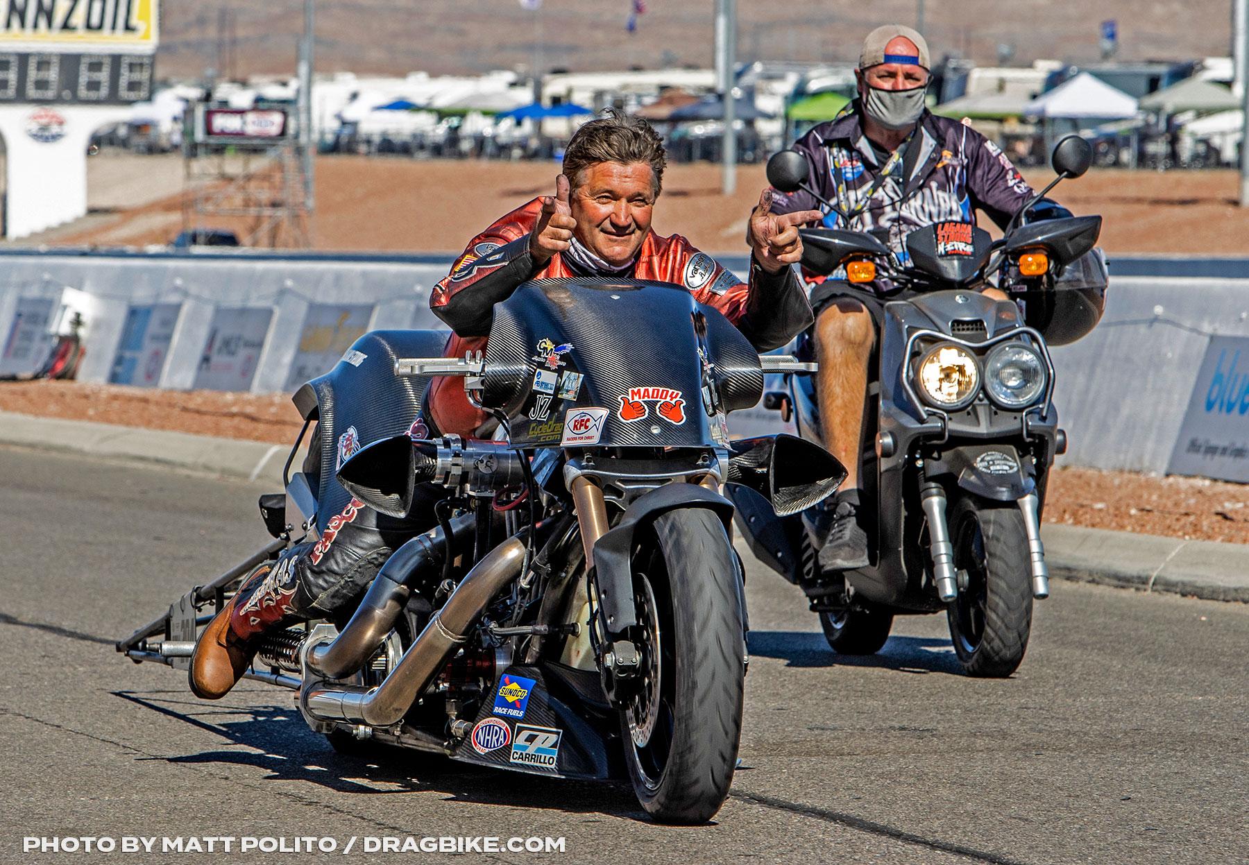 Randal Andras - NHRA Top Fuel Harley
