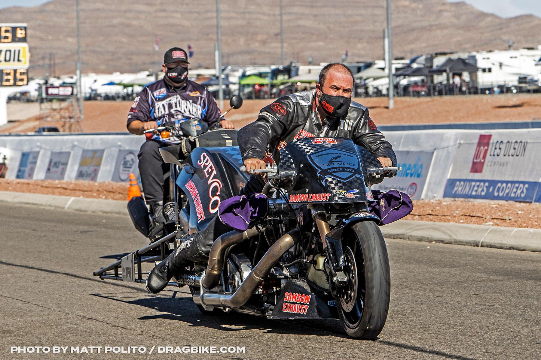 Tii Tharpe - NHRA Top Fuel Harley
