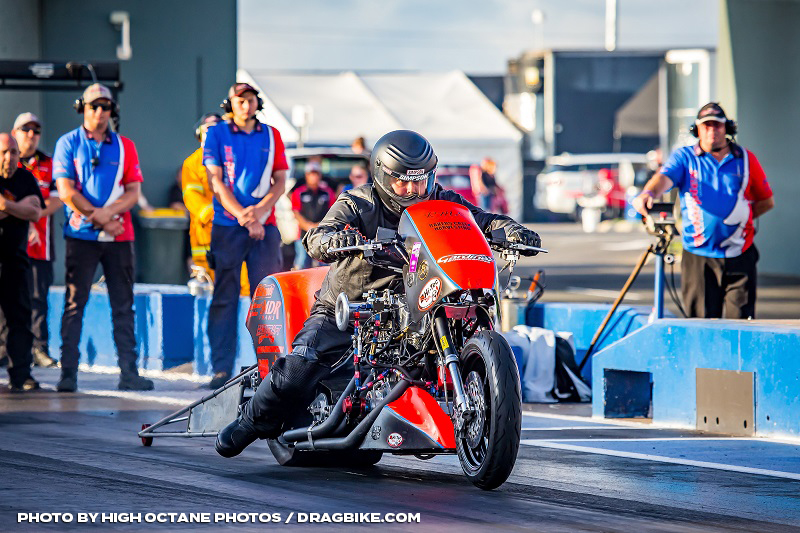 Aaron Deery Prepares for Nitro Slam at Perth Motorplex