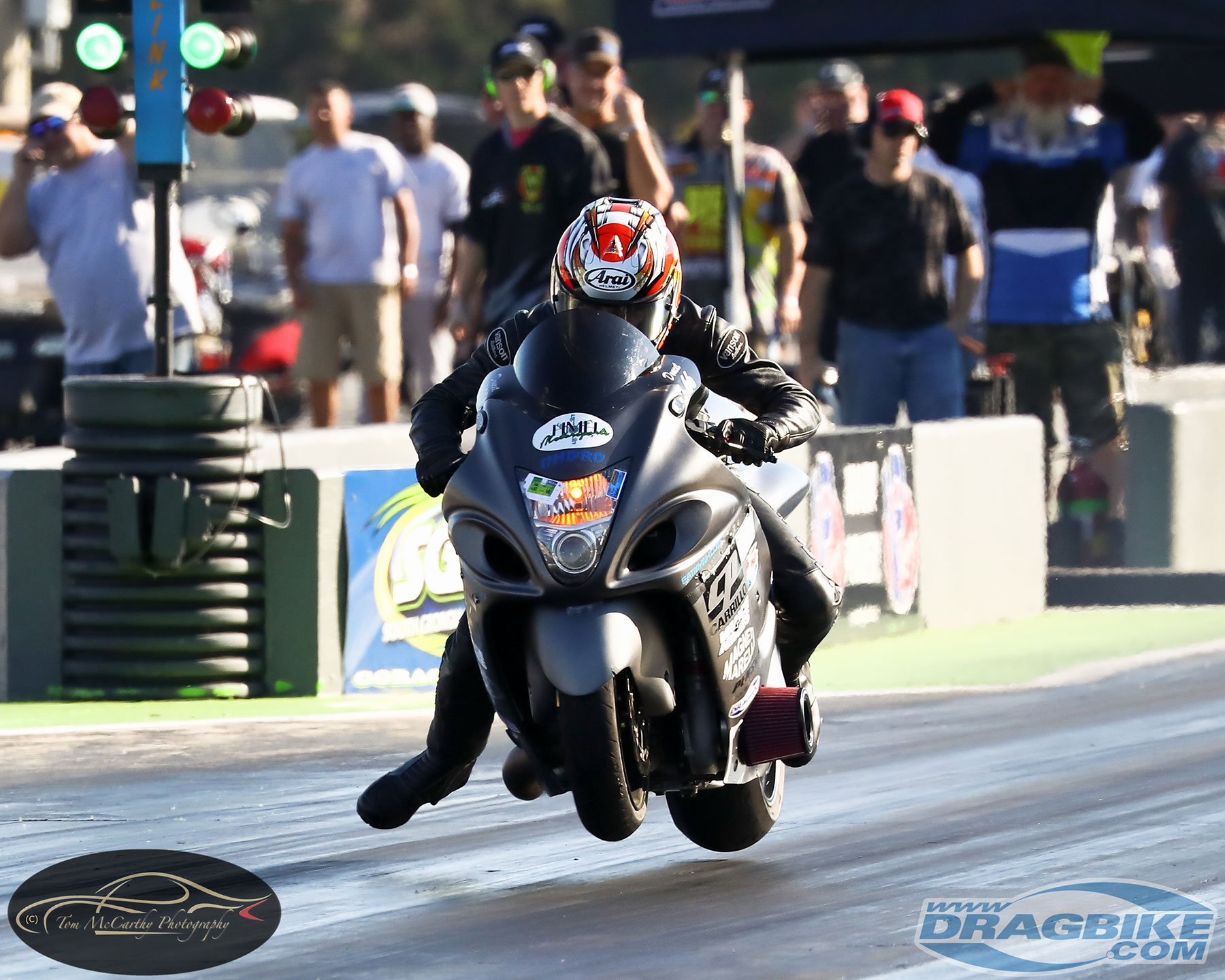 Pro Street Motorcycle drag racing