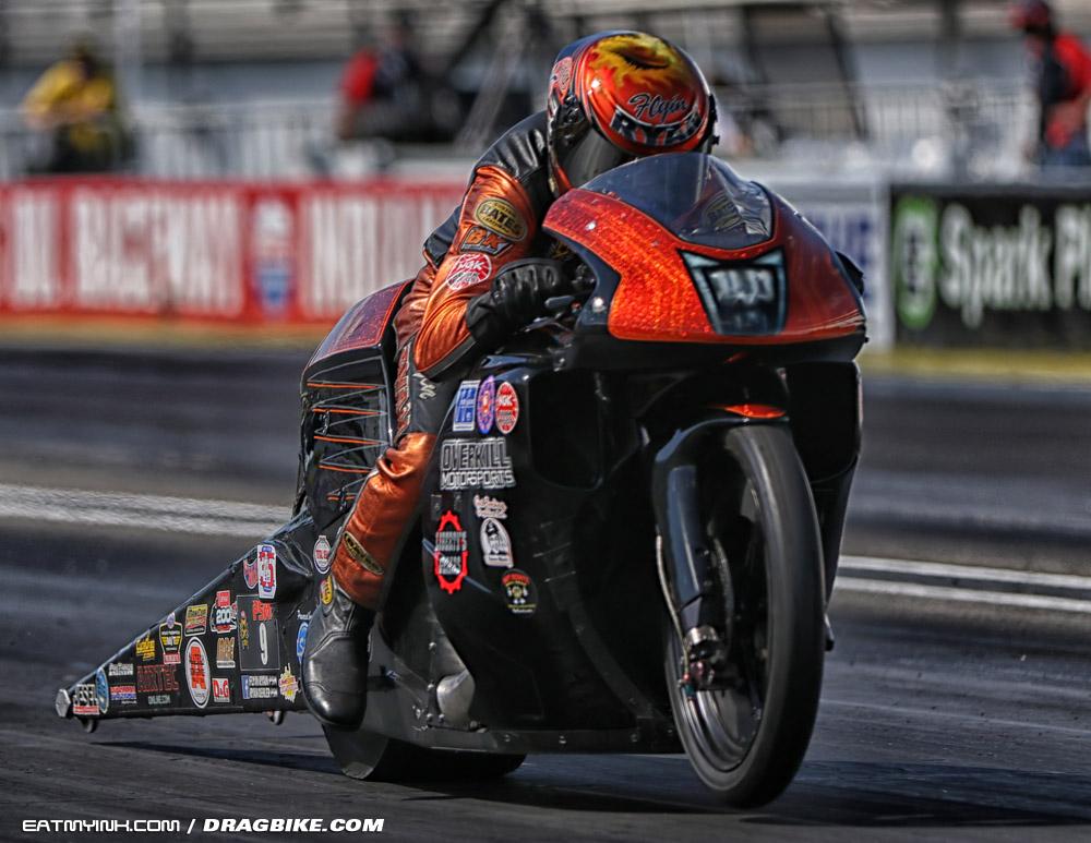 NHRA Pro Stock Motorcycle Flyin' Ryan Oehler