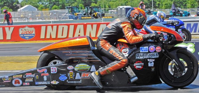 Ryan Oehler Races to First Career NHRA Win at Indy