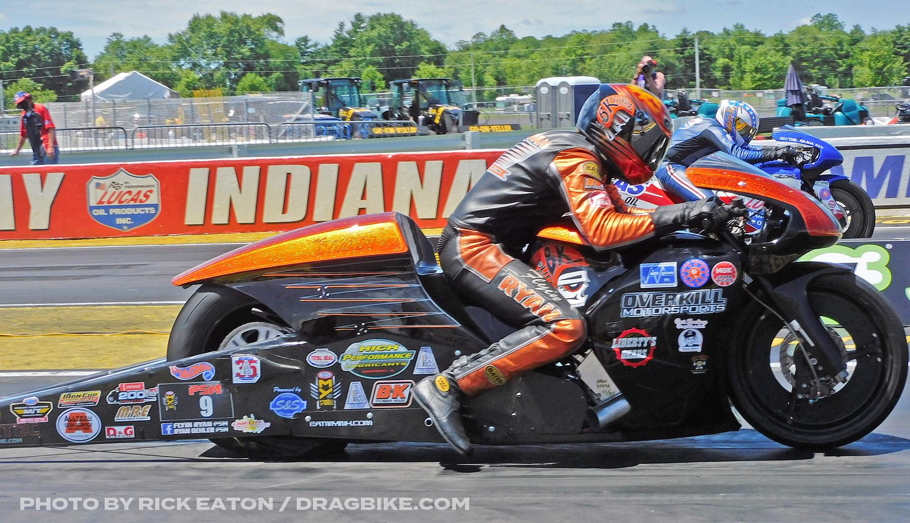 Ryan Oehler - 2020 NHRA Pro Stock Motorcycles Indy
