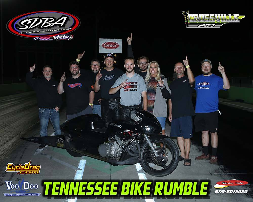 SDBA - Tennesee Bike Rumble - Crossville Dragway