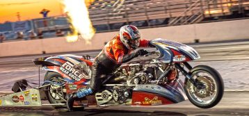 Brown & Bradley Top Fuel Motorcycle Ready to Kick off 2020