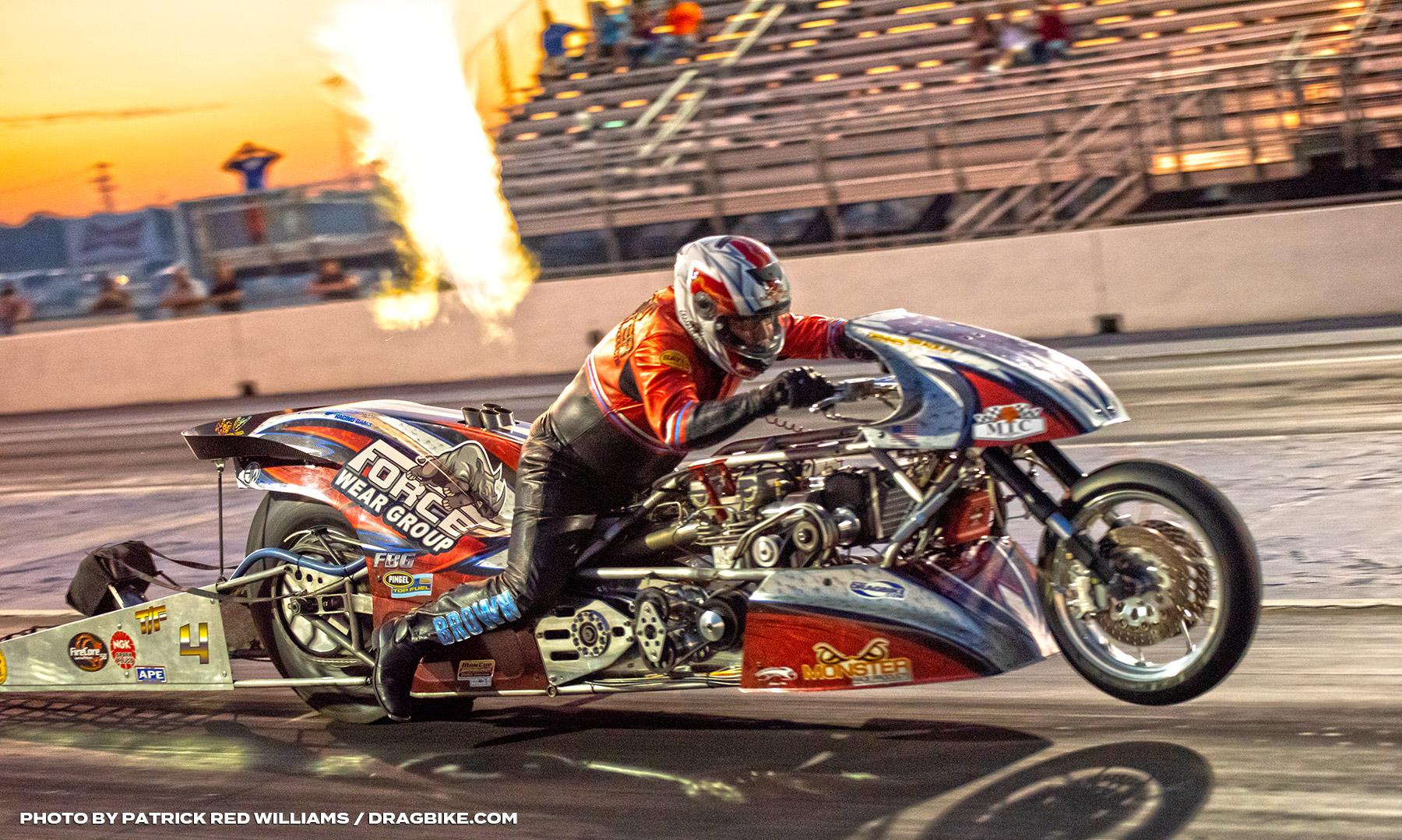 2020 Mitch Brown Top Fuel Motorcycle Drag Racing