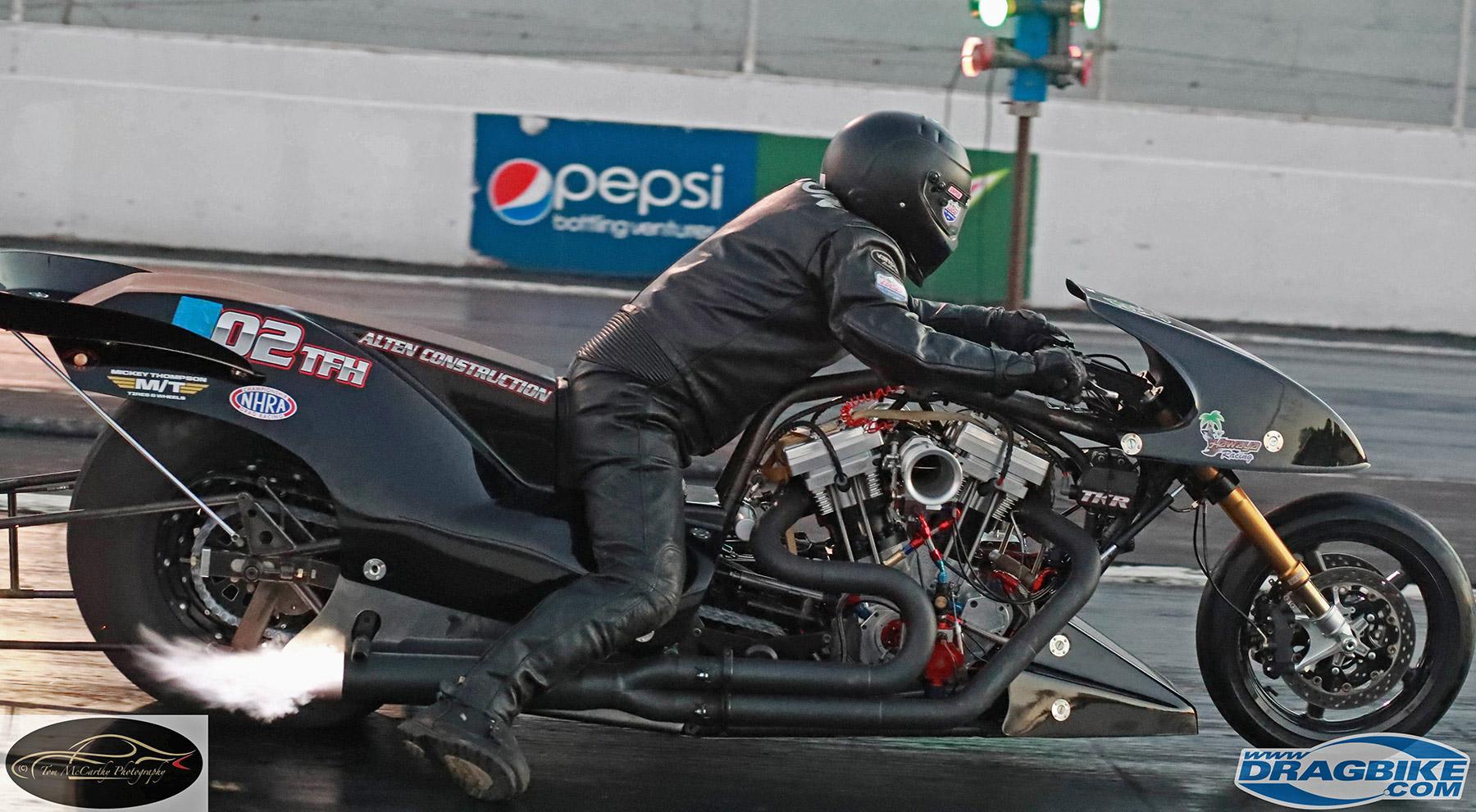 Tyler Wilson Top Fuel Motorcycle