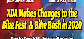 XDA Makes Changes to the Bike Fest & Bike Bash in 2020