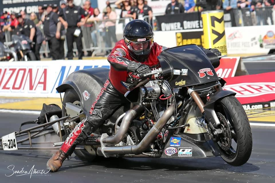 Randal Andras - Top Fuel Harley