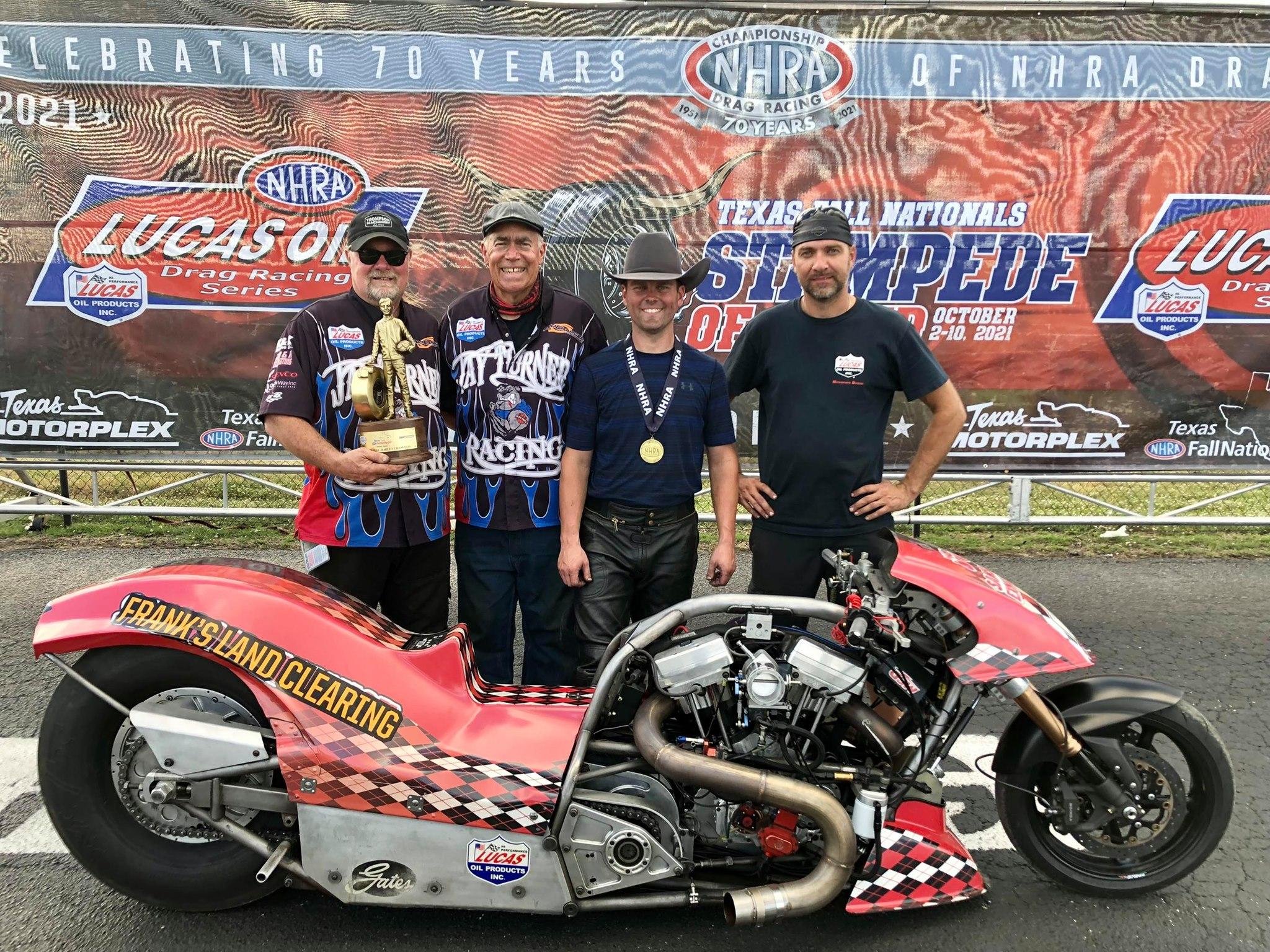 Chris Smith - Top Fuel Harley