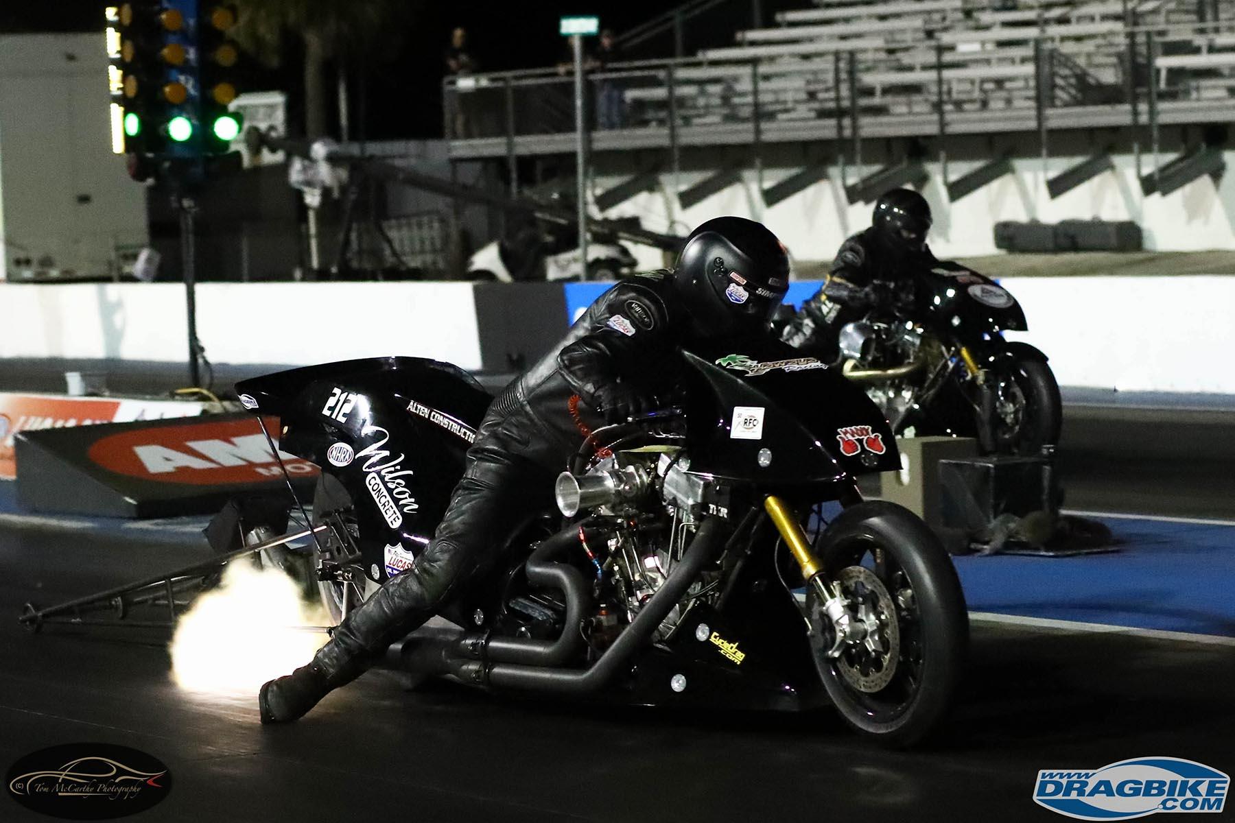 2021 AHDRA Motorcycle Drag Racing