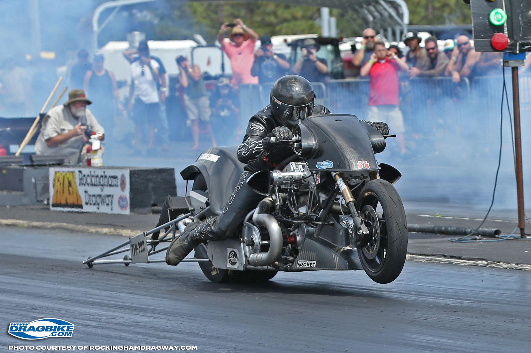 Ryan Peery Top Fuel Motorcycle