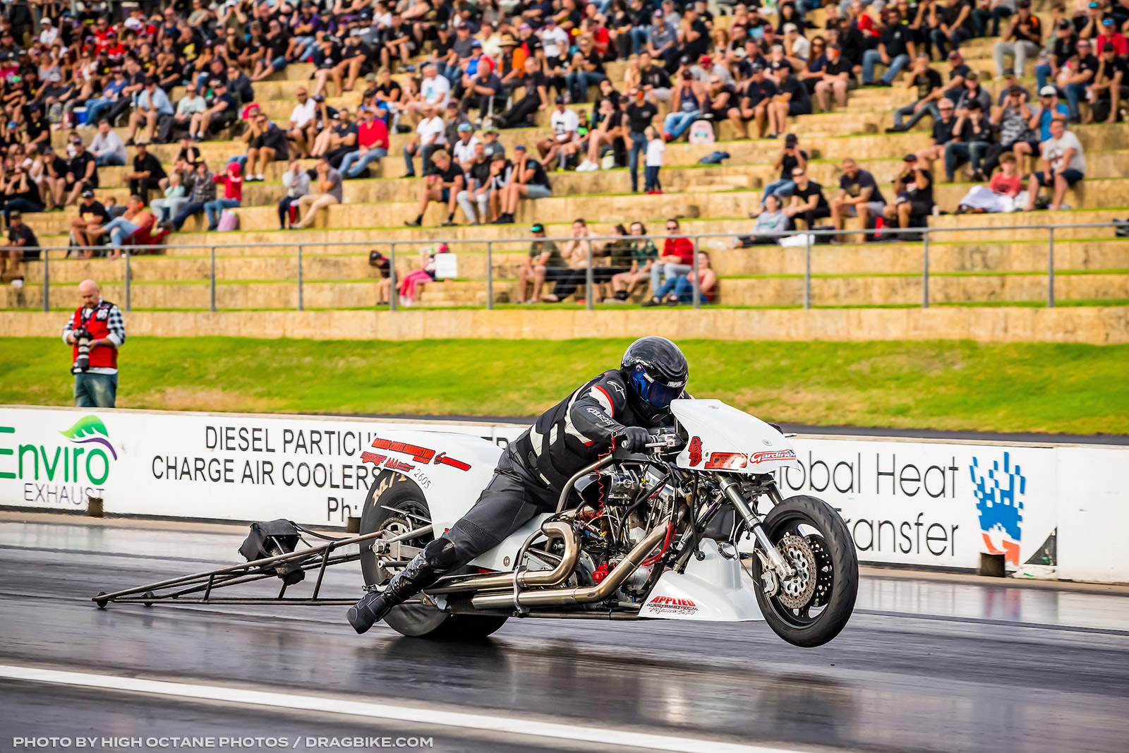 ANDRA Top Fuel Motorcycle Benny Stevens