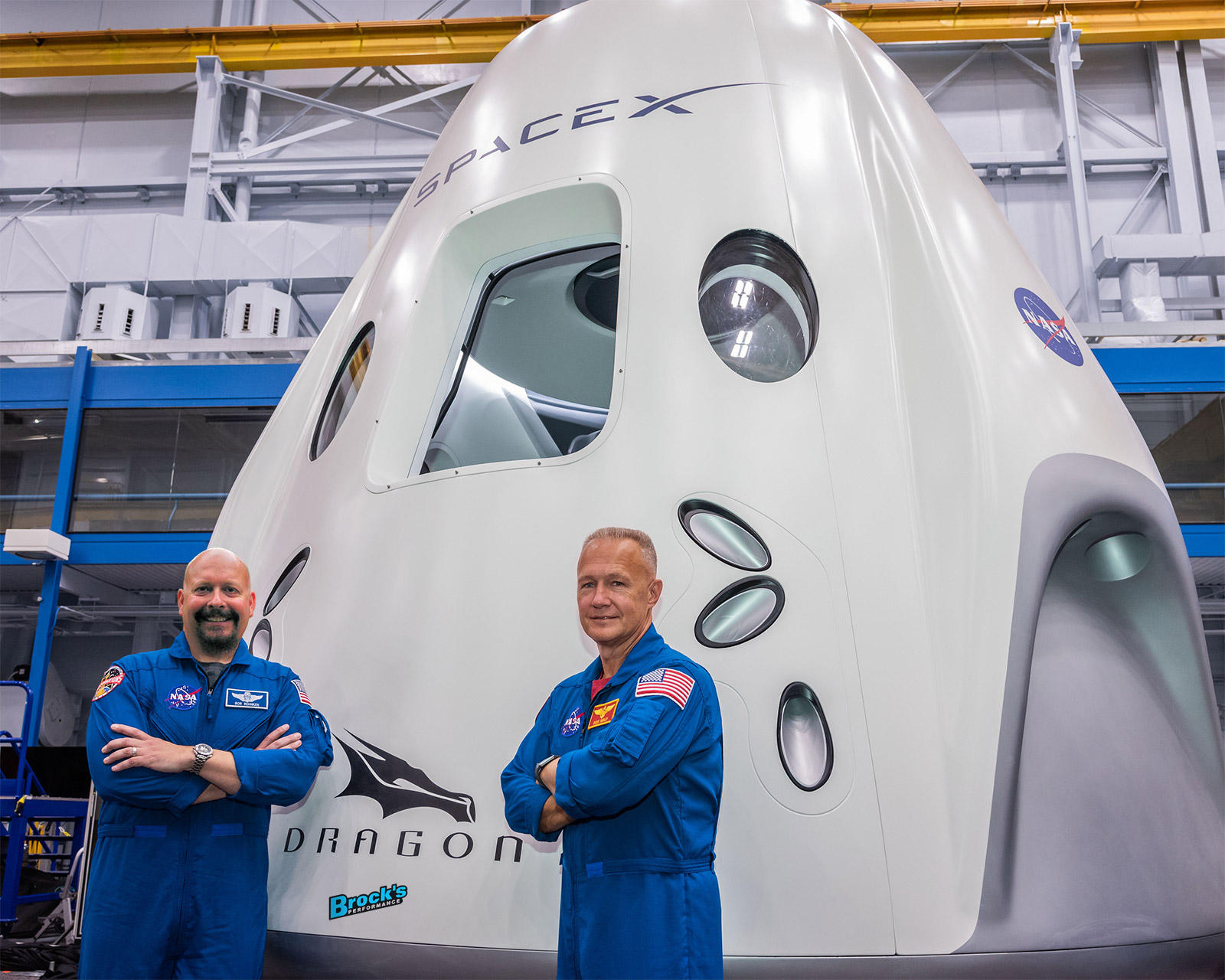 Brock to Fly on SpaceX Rocket