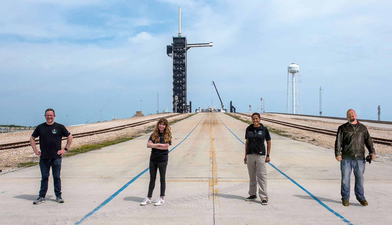 Brock Davidson to Fly on SpaceX Rocket