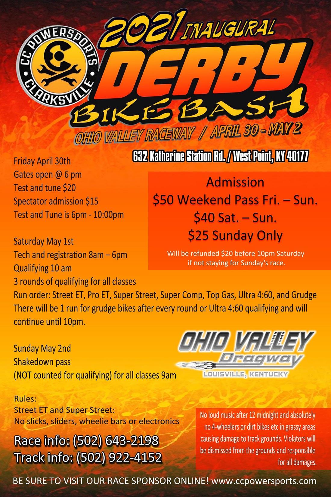 2021 Ohio Derby Bike Bash
