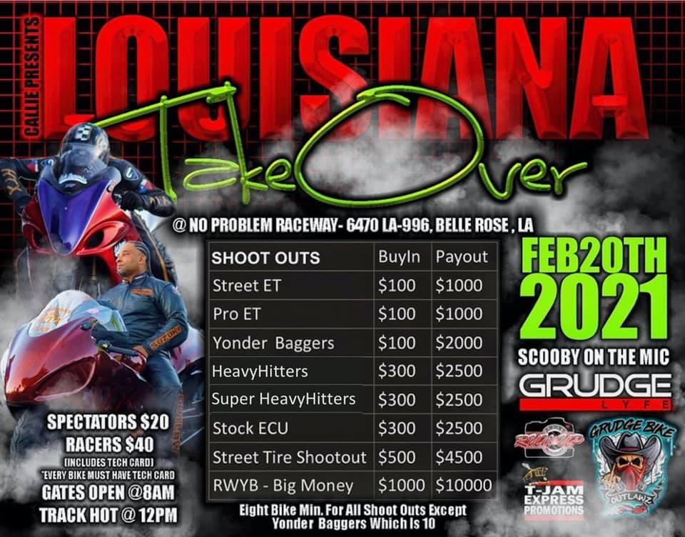 Louisiana Take Over