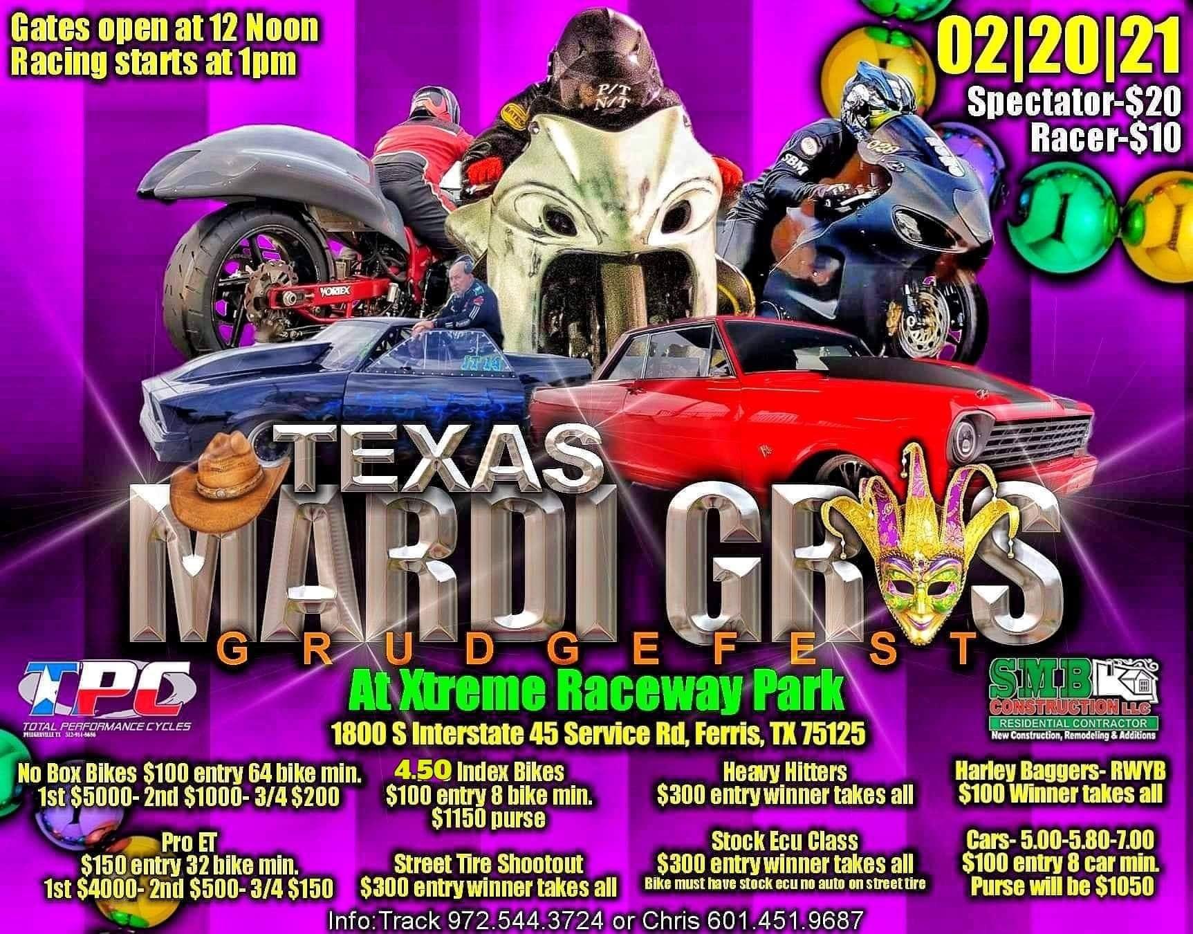 Texas Mardi Gras Grudgefest