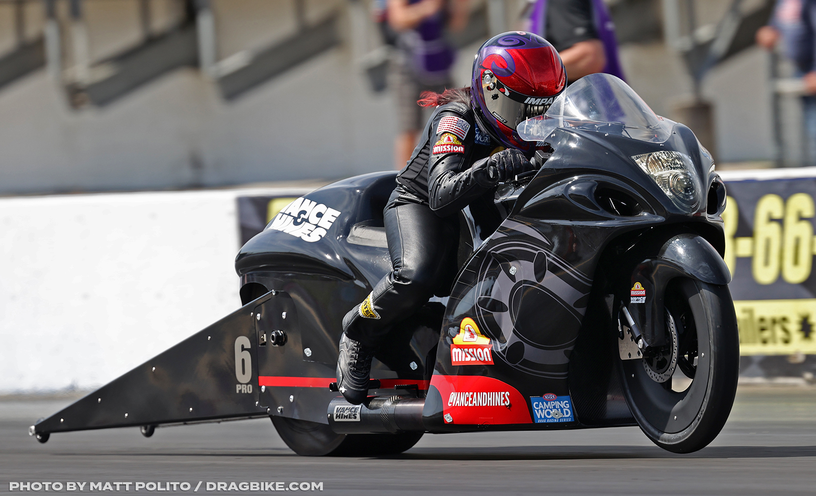 NHRA Angelle Sampey