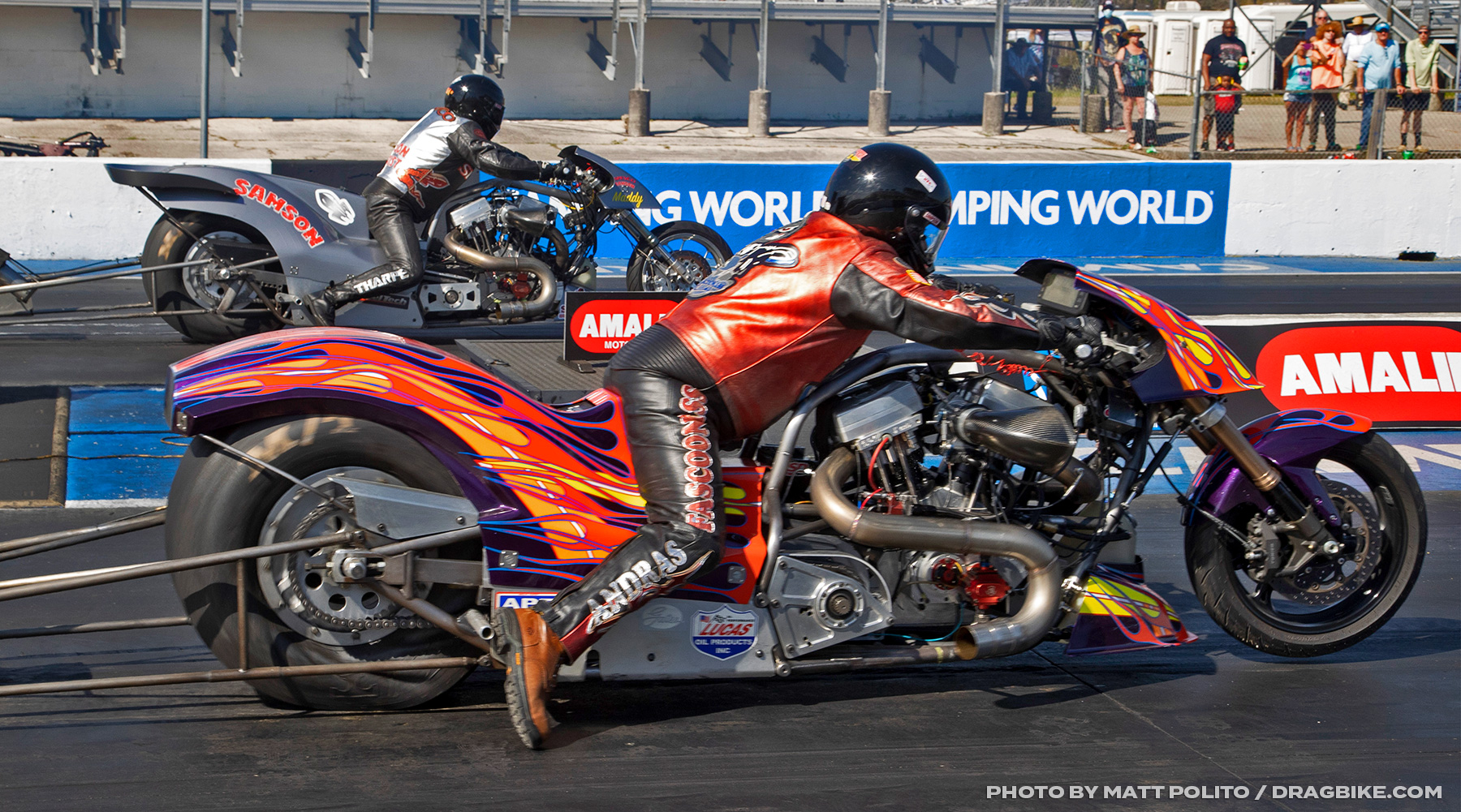 Randal Andras Top Fuel Harley