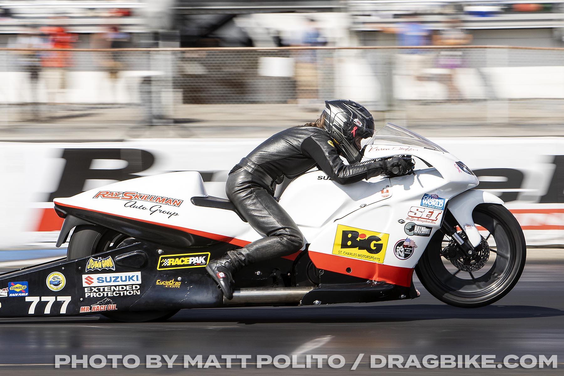 Steve Johnson - Pro stock Motorcycle