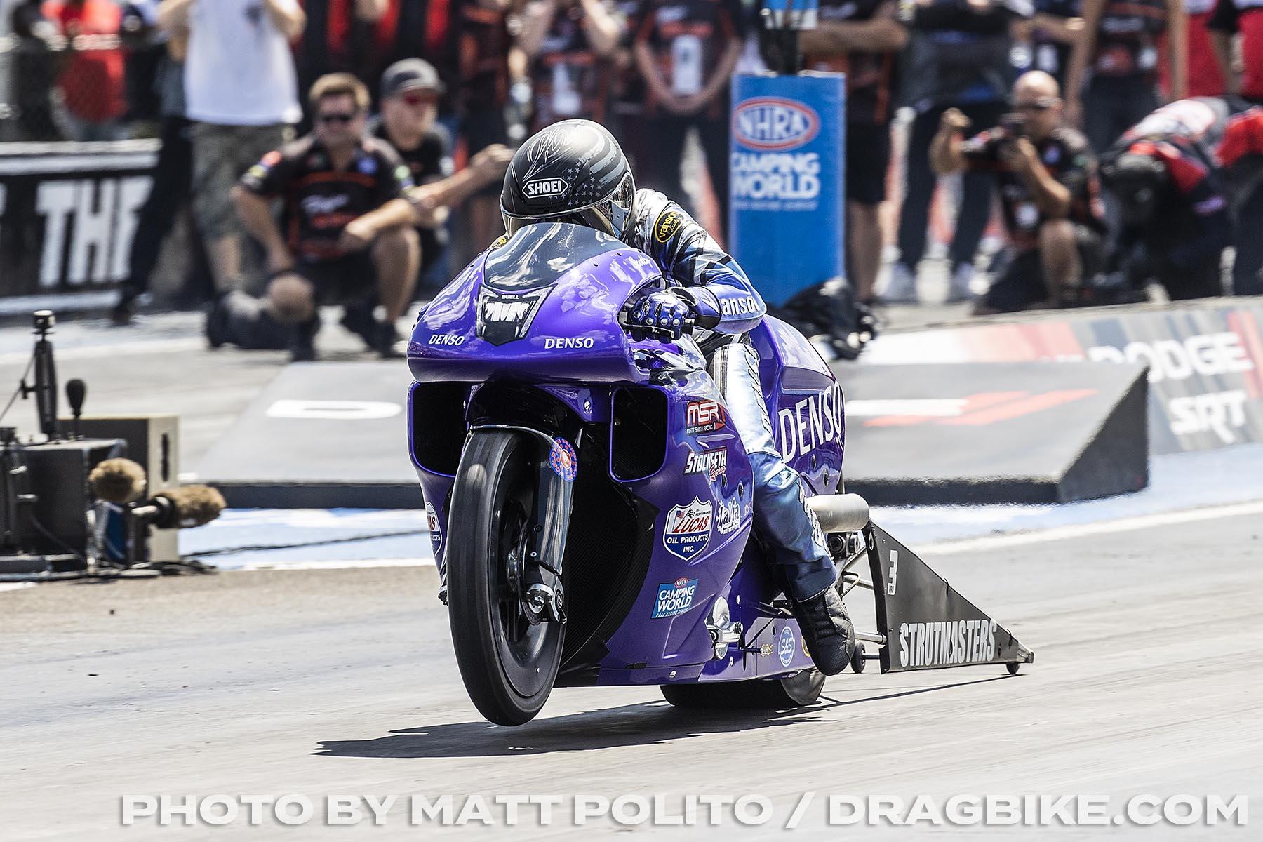 Scotty Pollacheck - Pro Stock Motorcycle