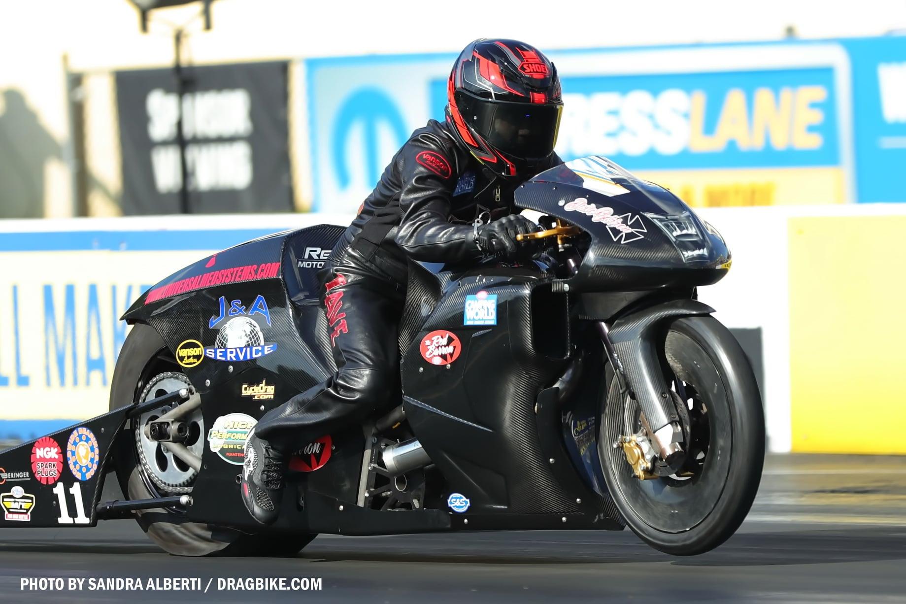 David Barron - NHRA Pro Stock Motorcycle