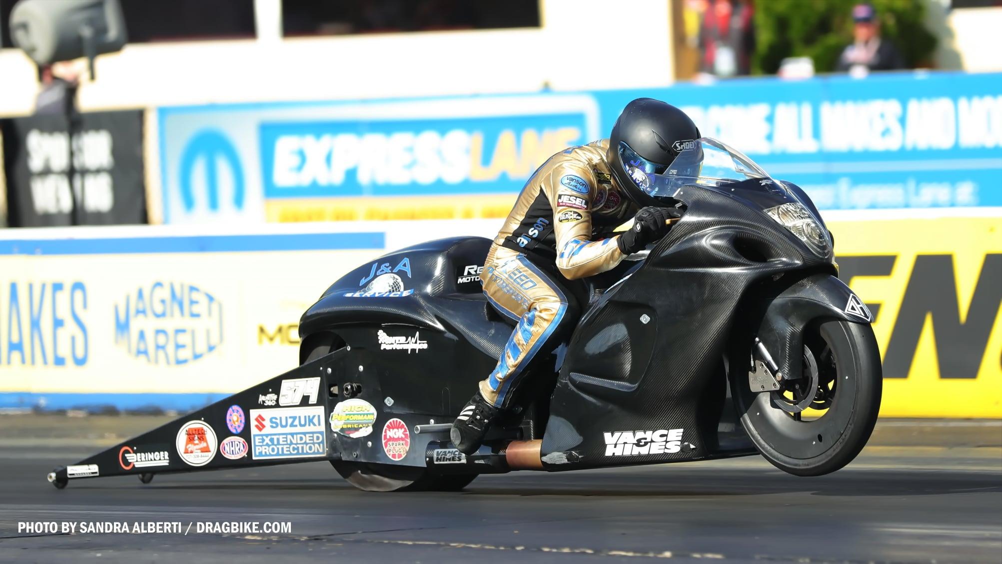 Cory Reed - NHRA Pro Stock Motorcycle