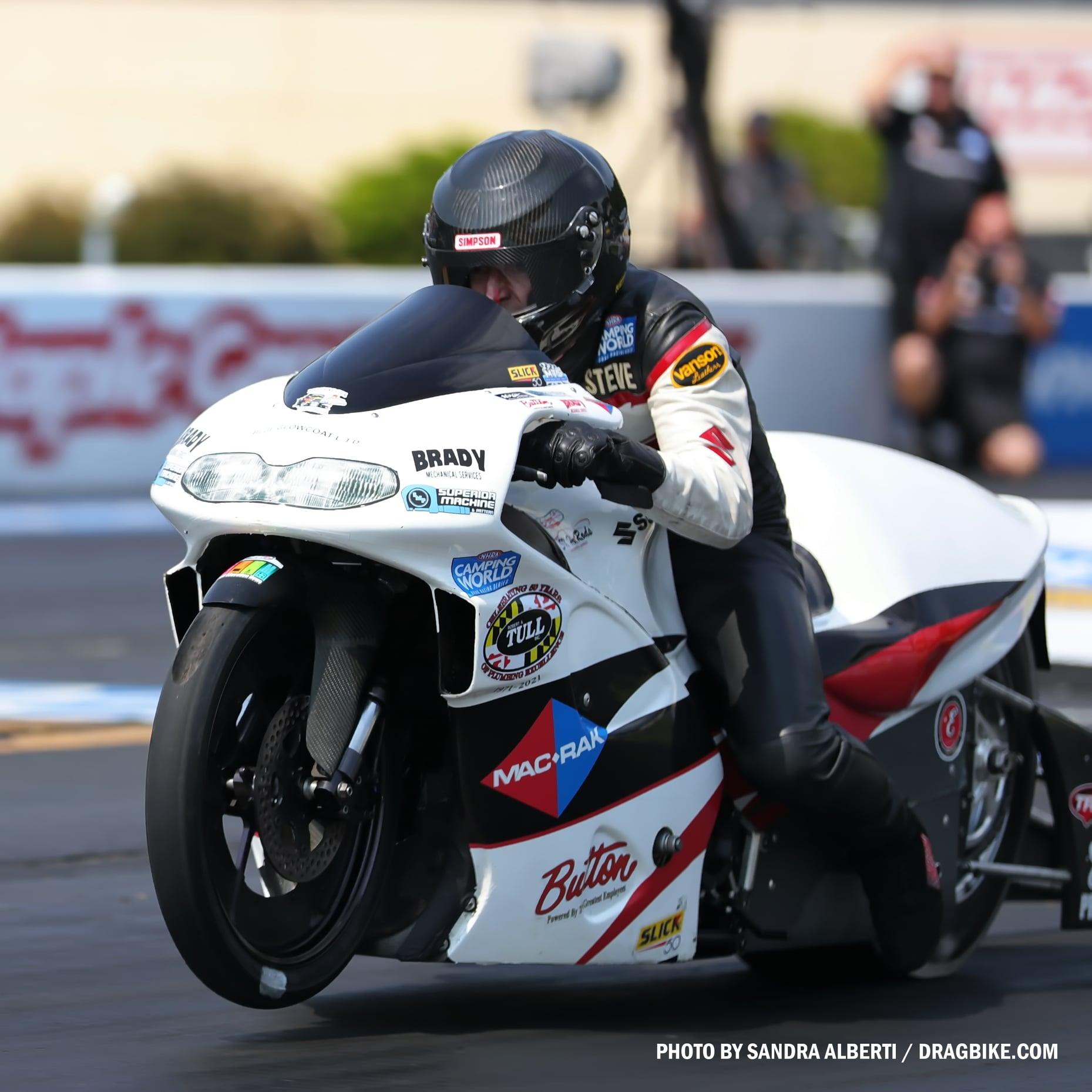 Steve Johnson - NHRA Pro Stock Motorcycle