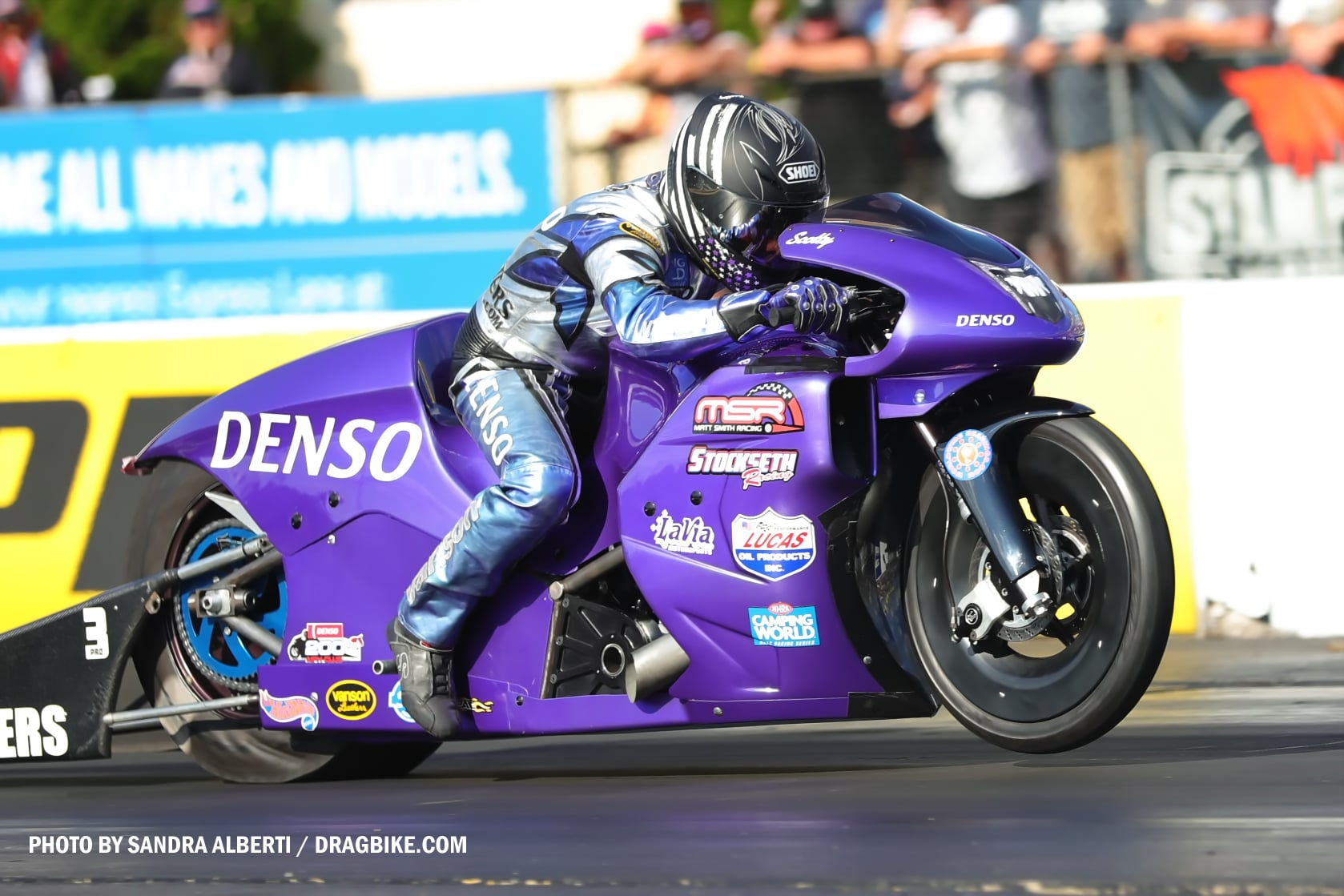 Scotty Pollacheck - NHRA Pro Stock Motorcycle