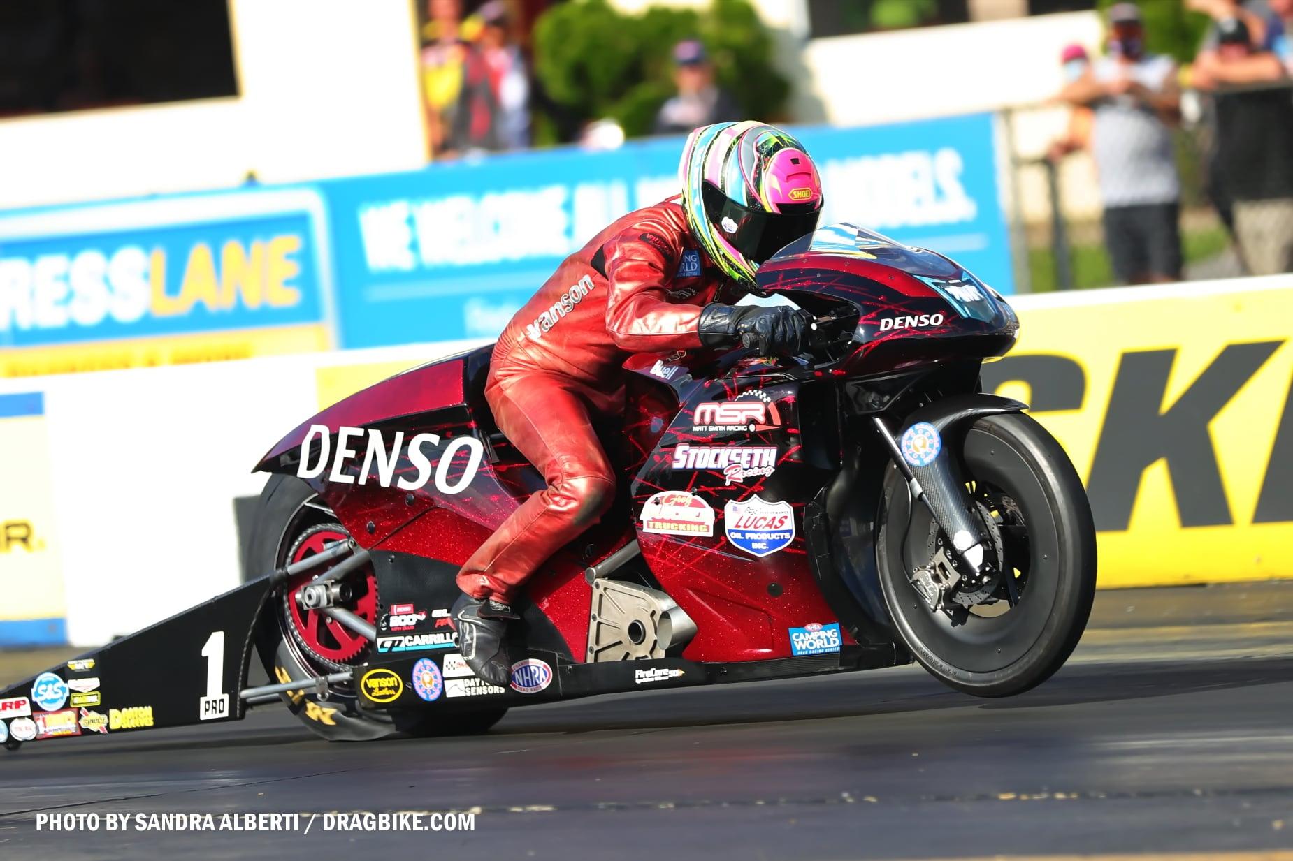 Matt Smith - NHRA Pro Stock Motorcycle