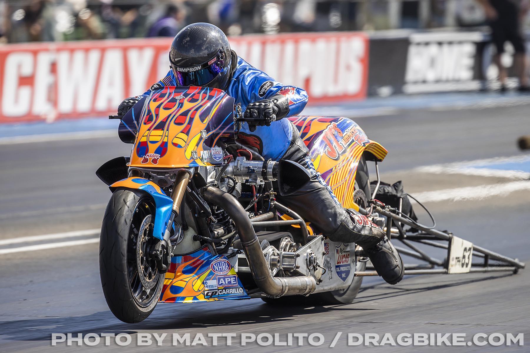 Jay Turner - Top Fuel Harley