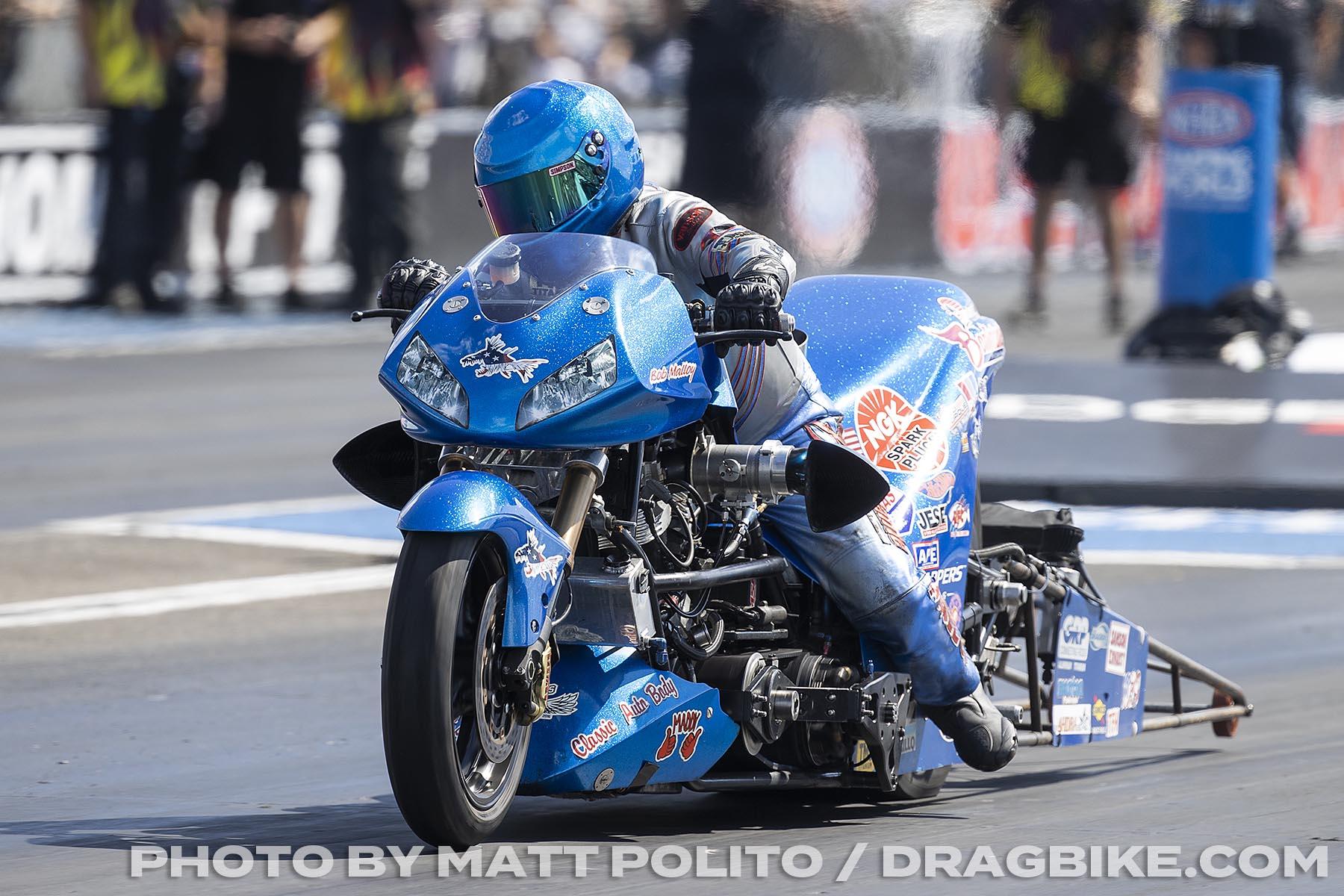 Bob Malloy - Top Fuel Harley