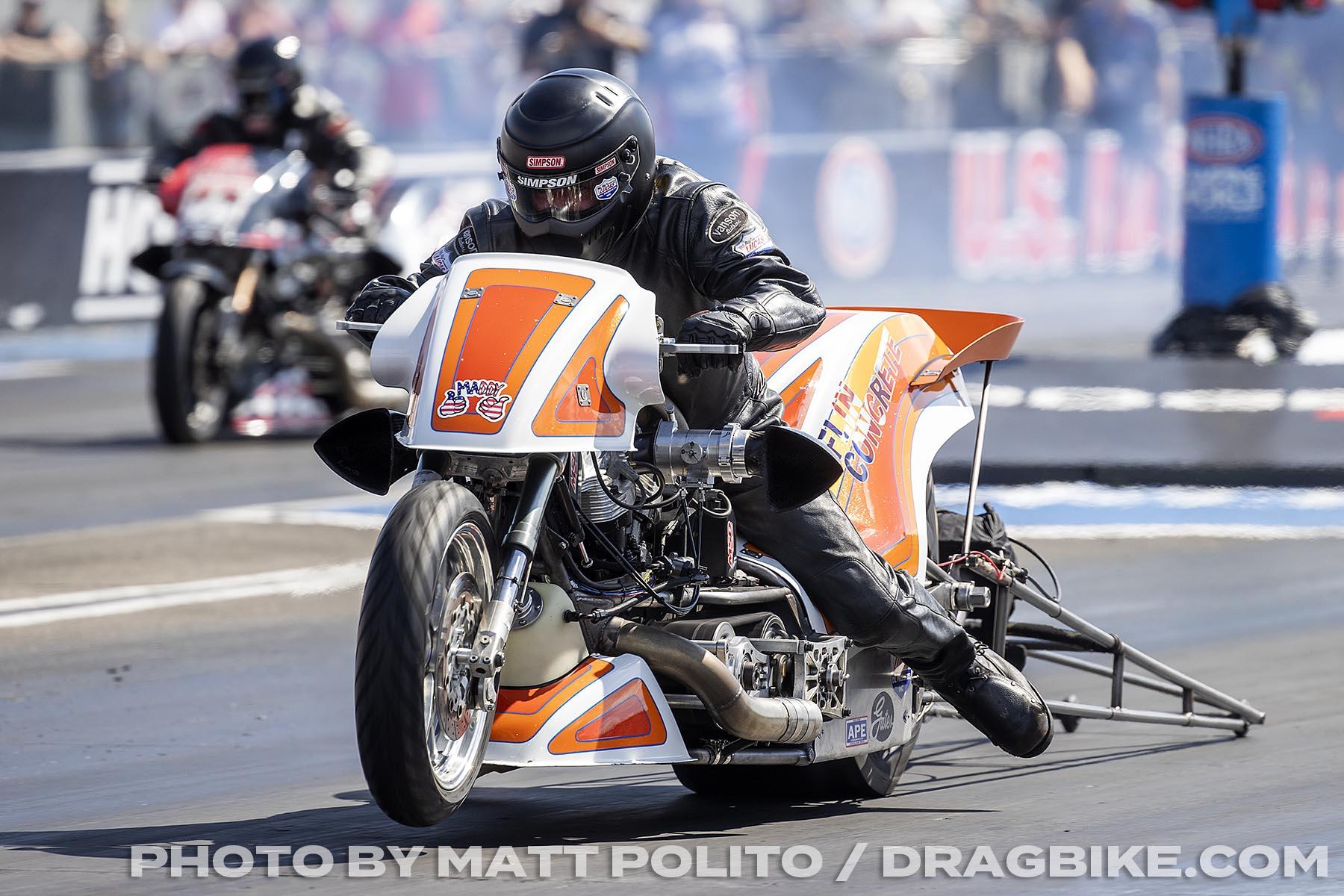 Tyler Wilson - Top Fuel Harley