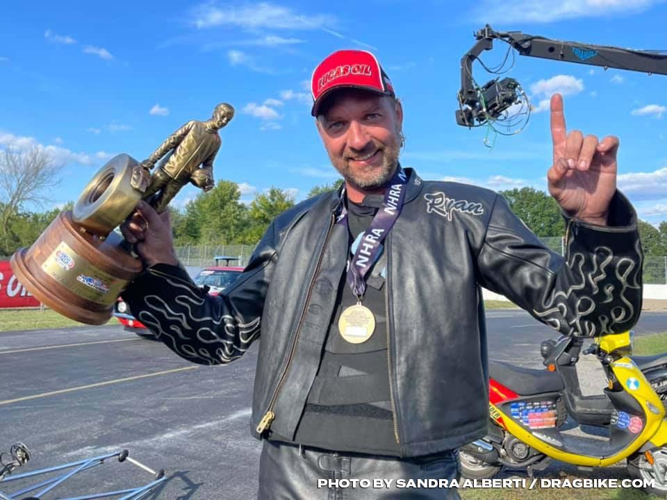 Top Fuel Harley Ryan Peery