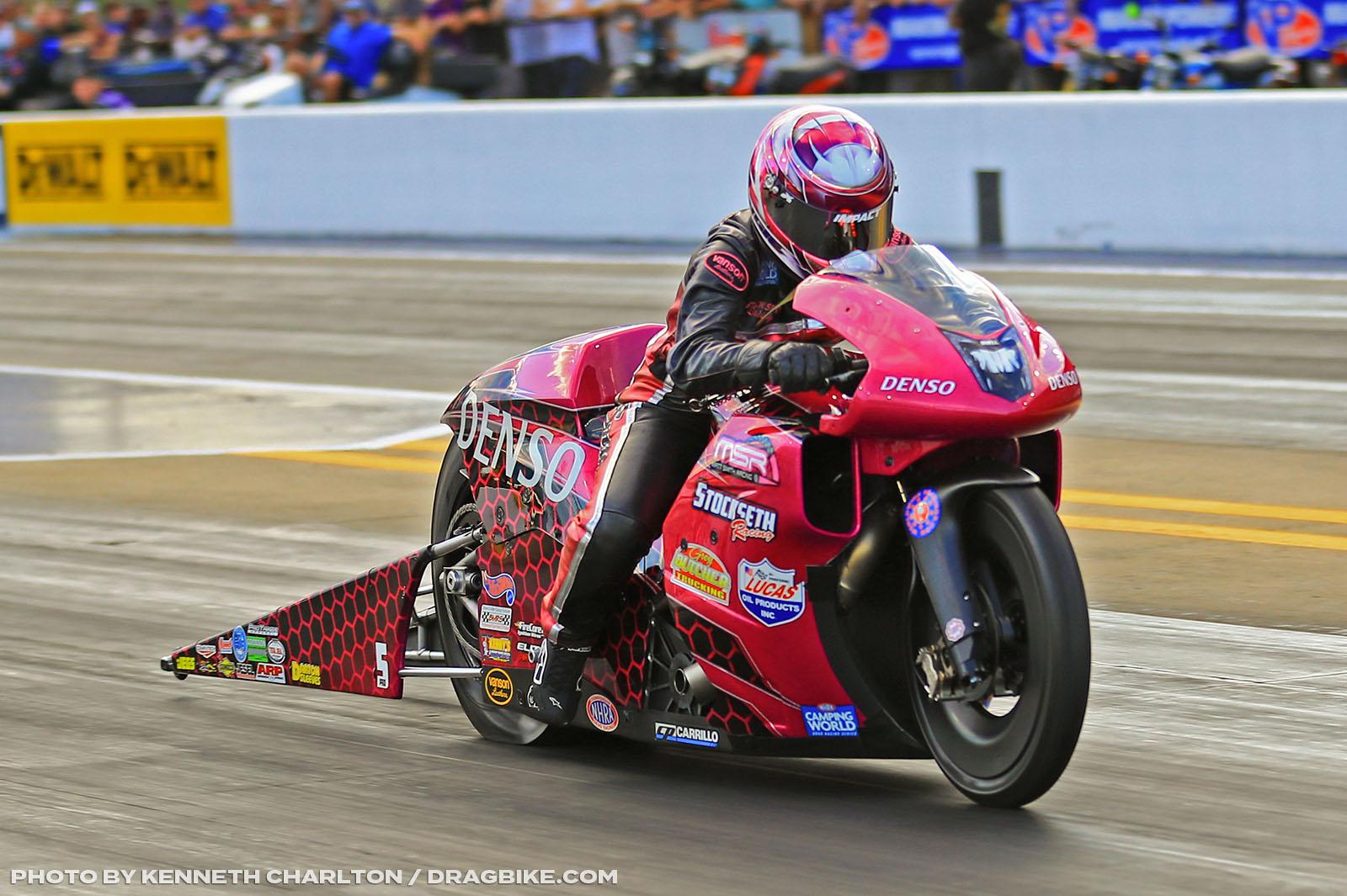 Angie Smith - NHRA Pro Stock Motorcycle